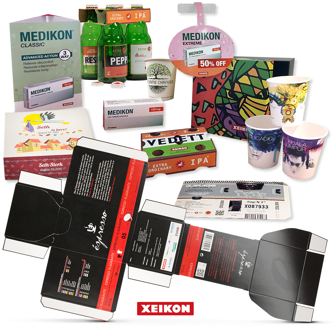 Xeikon - Digital Folding Carton (Xeikon 3500 | Dry Toner)