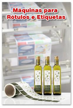 Máquinas para Rótulos e Etiquetas
