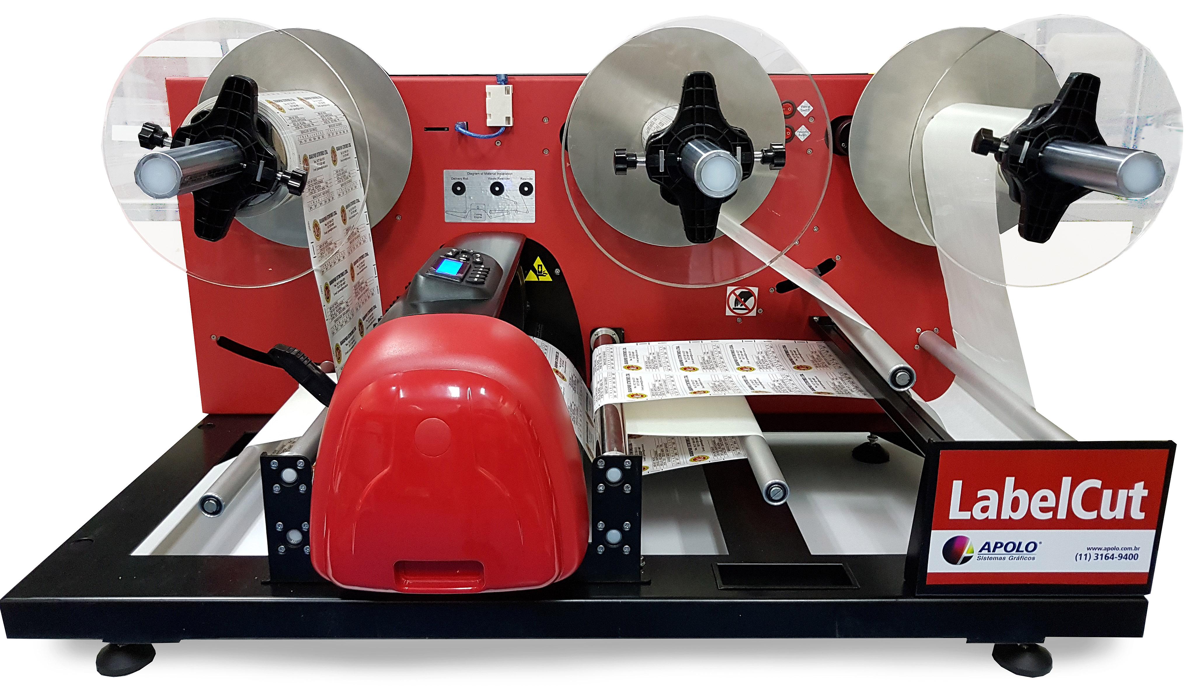 labelcut 340 - Sistema de Acabamento Digital para Rótulos e Etiquetas Autoadesivas - Finisher