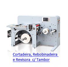 LabelFinish CRT320 Fast - Cortadeira, Rebobinadeira e Revisora de Alta Velocidade com Tambor