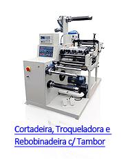 LabelFinish CRT320 - Cortadeira, Troqueladora e Rebobinadeira com Tambor