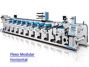 Multitec Ecoflex - Impressora Flexográfica Rotativa Modular