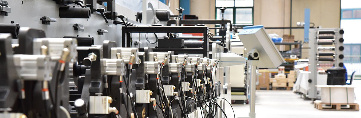 Lombardi Flexoline - Impressora Flexográfica Modular - Detalhes - Sobre a Lombardi Converting Machinery