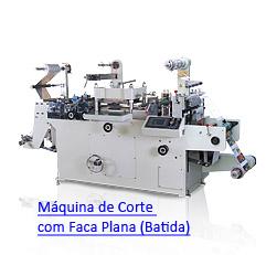 LabelFinish B320, B320 Fast e B320 Duplo Corte - Máquinas de Corte com Facas Planas (Batida)