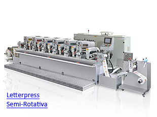 LabelMan - Impressora Letterpress UV Semi-Rotativa
