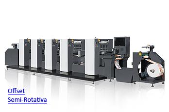 LabelMan - Impressora Offset UV Semi-Rotativa