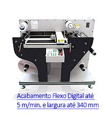 MultiBlade 340 - Sistema de Acabamento Digital para Rótulos e Etiquetas Autoadesivas
