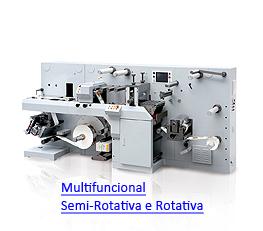 LabelFinish Multifuncional 330 - Semi e Rotativa - Troqueladora, Cortadeira, Rebobinadora, Revisora, UV, Laminação e Cold Stamping