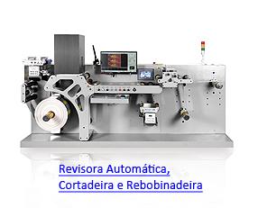 LabelCheck RA350 - Revisora Automática, Cortadeira e Rebobinadeira