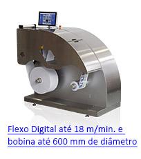 TrojanTwo - Impressora Digital Industrial de Rótulos e Etiquetas para Pequenos e Médios Convertedores