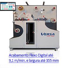 VersaCut 355 - Sistema de Acabamento Digital para Rótulos e Etiquetas Autoadesivas
