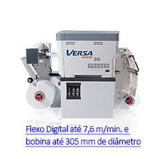 VersaPress - Impressora Digital de Rótulos e Etiquetas Autoadesivas