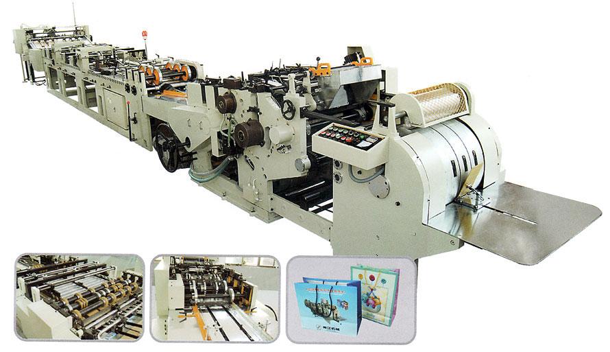 027389aee SuperBag S - Máquina Automática para Fabricar Sacolas de Papel com Fundo  Quadrado